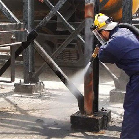 Steel Sandblasting