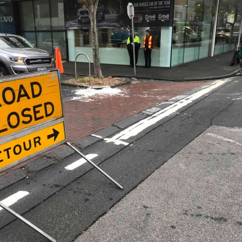 Malvern Road Paint Removal(VIC)